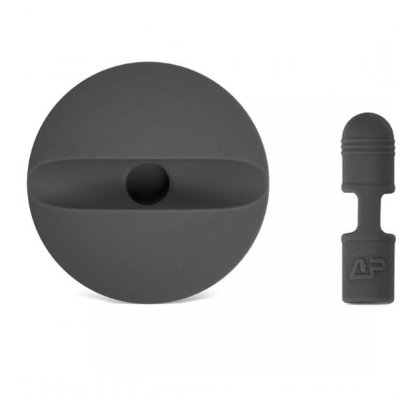 AppleKing držák a kryt konektoru pro Apple Pencil - šedý - možnost vrátit zboží ZDARMA do 30ti dní