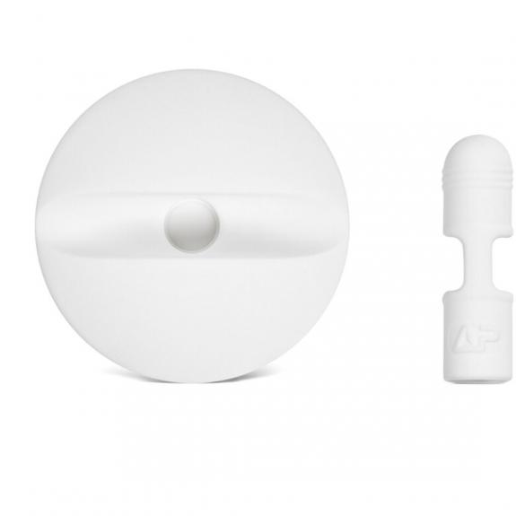 AppleKing držák a kryt konektoru pro Apple Pencil - bílý - možnost vrátit zboží ZDARMA do 30ti dní