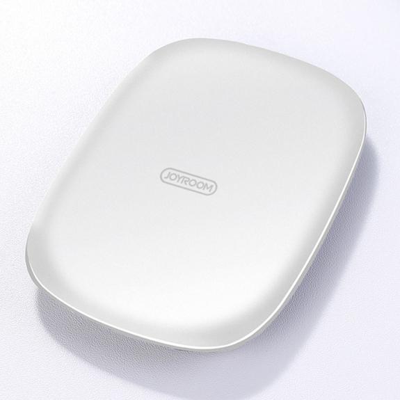 JOYROOM JR-A12 bezdrátová Qi nabíječka pro iPhone - bílá - možnost vrátit zboží ZDARMA do 30ti dní