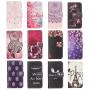 Otvírací / flip peněženkové pouzdro se stojánkem a sloty na karty pro Apple iPhone 8 / 7 - Růžový slon