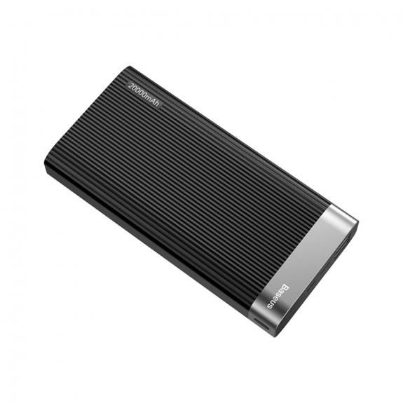 AppleKing bASEUS powerbanka 20000mAh pro Apple zařízení - černá - možnost vrátit zboží ZDARMA do 30ti dní