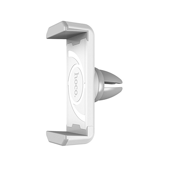 HOCO CPH01 držák na ventilační mřížku pro iPhone - bílo-šedý - možnost vrátit zboží ZDARMA do 30ti dní