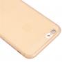 Ultra tenký plastový kryt pro iPhone 6 / 6S - s ochranou zadní kamery - oranžový