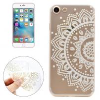 Ochranný průhledný kryt pro Apple iPhone 7 - Květinový vzor