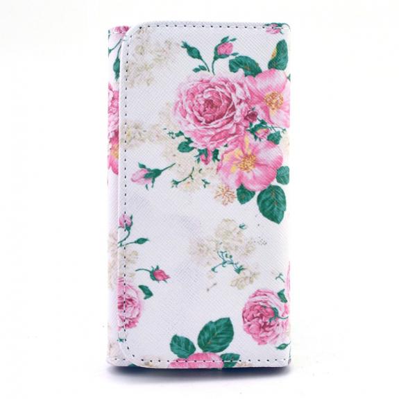 AppleKing pouzdro pro Apple iPhone 6 / 6S - Růže - možnost vrátit zboží ZDARMA do 30ti dní