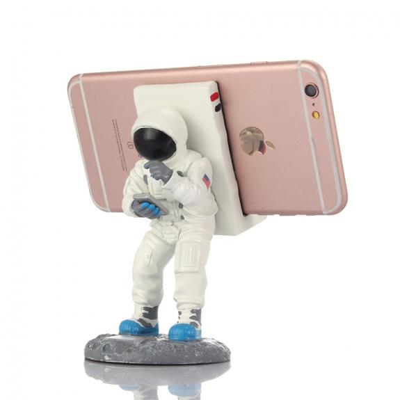 AppleKing stojánek pro iPhone - astronaut - možnost vrátit zboží ZDARMA do 30ti dní