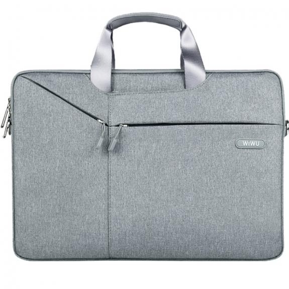 """AppleKing stylová brašna pro MacBook Pro 13"""" / Air 13"""" - světle šedá - možnost vrátit zboží ZDARMA do 30ti dní"""