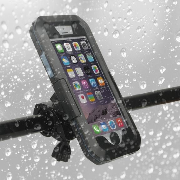 AppleKing iPX8 Voděodolný kryt 5v1 pro Apple iPhone 7 - černý - možnost vrátit zboží ZDARMA do 30ti dní