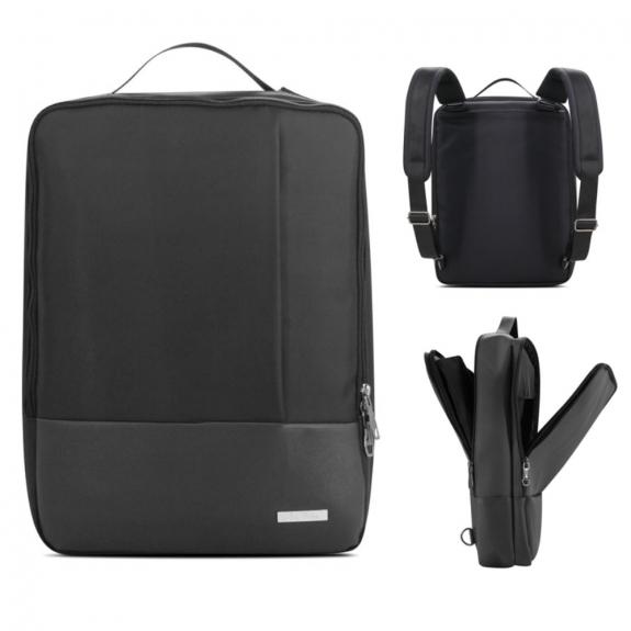 """AppleKing elegantní brašna / batoh pro Macbook 15"""" - černá - možnost vrátit zboží ZDARMA do 30ti dní"""