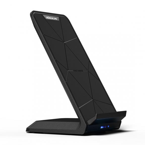 NILLKIN stojánek s bezdrátovým nabíjením pro iPhone - černá - možnost vrátit zboží ZDARMA do 30ti dní