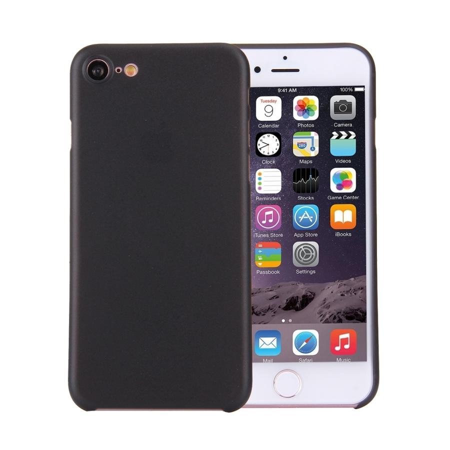 Super lehký tenký kryt na Apple iPhone 8   7 - černý - AppleKing.cz d51c251a94b