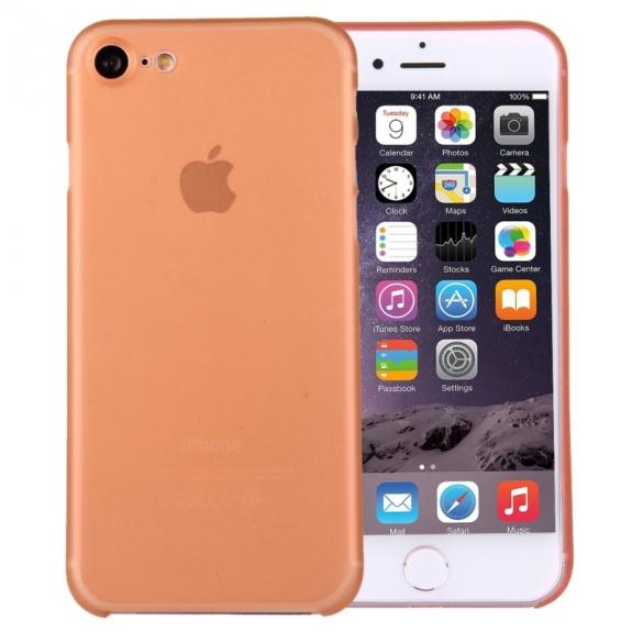 Super lehký tenký kryt na Apple iPhone 8 / 7 - oranžový