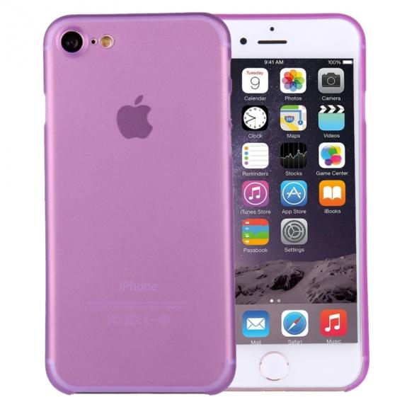 AppleKing super lehký tenký kryt na Apple iPhone 7 - fialový - možnost vrátit zboží ZDARMA do 30ti dní