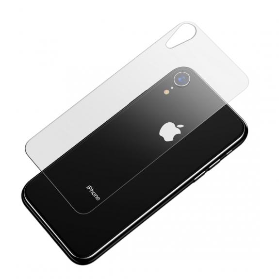 BASEUS temperované sklo na zadní stranu pro iPhone XR - možnost vrátit zboží ZDARMA do 30ti dní