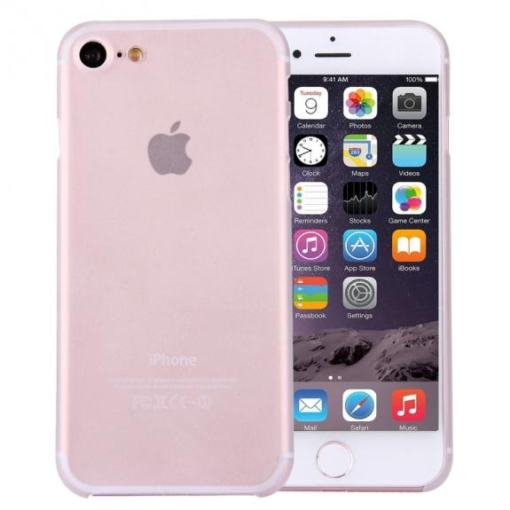AppleKing super lehký tenký kryt na Apple iPhone 7 - bílý - možnost vrátit zboží ZDARMA do 30ti dní