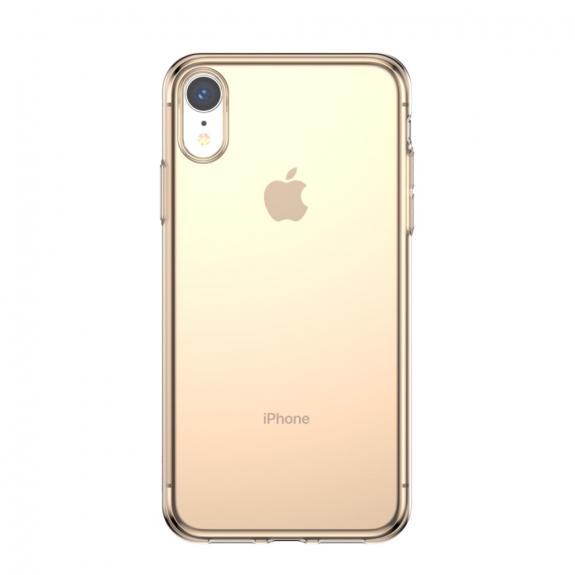 BASEUS Simplicity kryt pro iPhone XR - zlatá - možnost vrátit zboží ZDARMA do 30ti dní