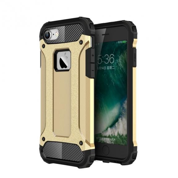 """AppleKing super odolný """"Armor"""" kryt na Apple iPhone 8 / 7 - zlatý - možnost vrátit zboží ZDARMA do 30ti dní"""