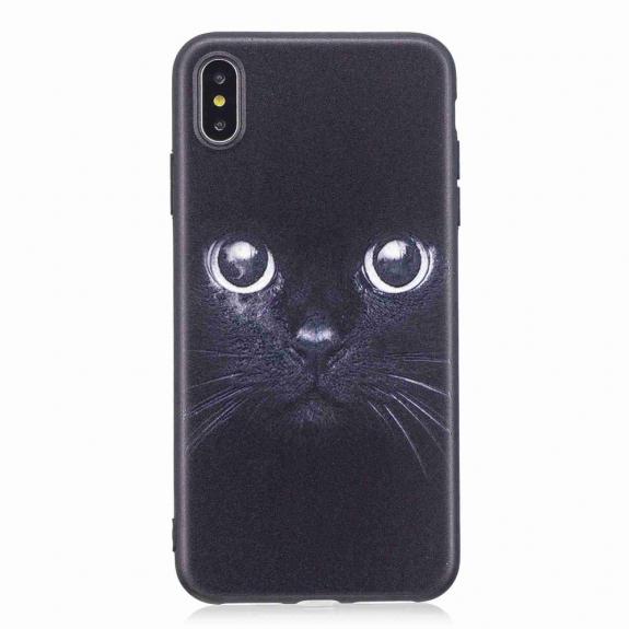 AppleKing plastový kryt pro iPhone XS Max - kočka - možnost vrátit zboží ZDARMA do 30ti dní