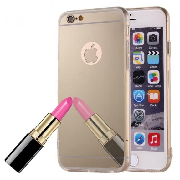 AppleKing zrcadlový ochranný kryt pro iPhone 6   6S - zlatý - možnost  vrátit zboží ZDARMA d6eff5194db