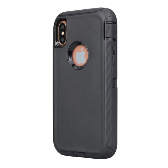 AppleKing odolné / prachuvzdorné pouzdro pro iPhone XS Max - černé - možnost vrátit zboží ZDARMA do 30ti dní