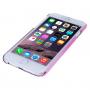 Tenký průhledný plastový kryt se vzorem anděla pro iPhone 6 / 6S - růžový