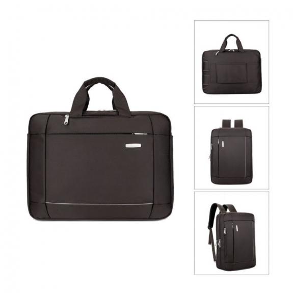 AppleKing luxusní brašna / batoh pro Macbook (43 x 32 x 10cm) - kávová - možnost vrátit zboží ZDARMA do 30ti dní