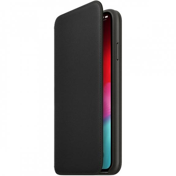 Originální Apple Folio kožené pouzdro pro iPhone XS Max - černá MRX22ZM/A - možnost vrátit zboží ZDARMA do 30ti dní
