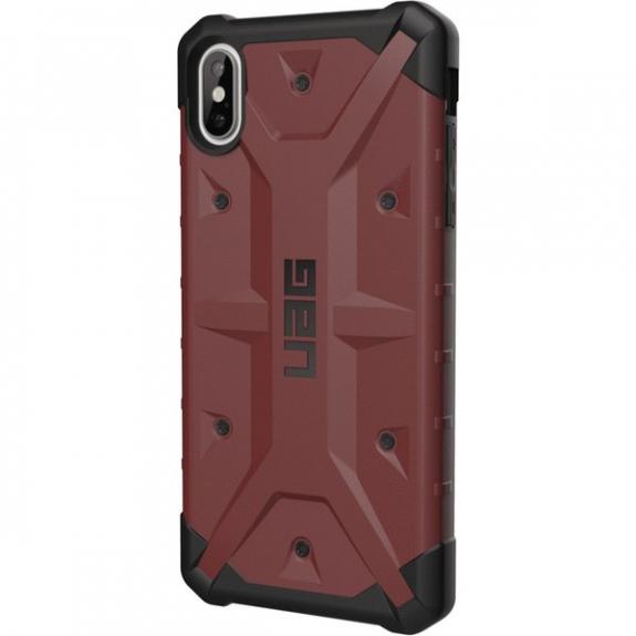 UAG Pathfinder odolné pouzdro pro iPhone XS Max - červená 812451030457 - možnost vrátit zboží ZDARMA do 30ti dní