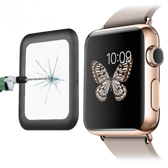 LINK DREAM Super odolné tvrzené sklo 8-9H pro Apple Watch 42mm - 0.2mm - možnost vrátit zboží ZDARMA do 30ti dní