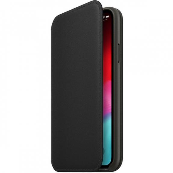 Originální Apple Folio kožené pouzdro pro iPhone XS - černá MRWW2ZM/A - možnost vrátit zboží ZDARMA do 30ti dní
