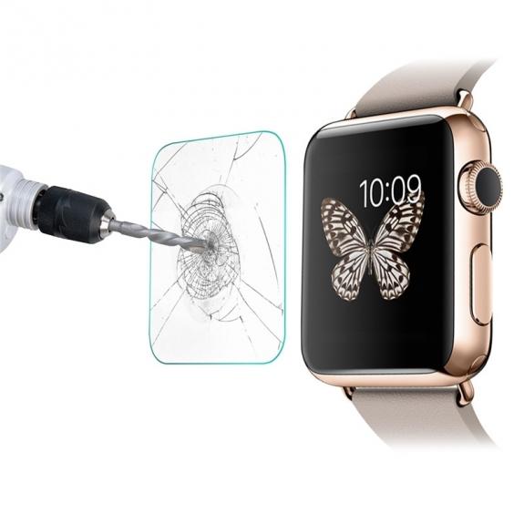 AppleKing temperované sklo pro Apple Watch 38mm - 0.2mm - možnost vrátit zboží ZDARMA do 30ti dní