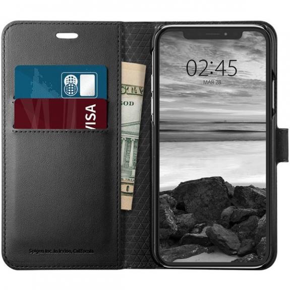 Spigen Wallet S pouzdro pro Apple iPhone XS   X - černá 063CS25120 -  možnost vrátit 4a43af59193