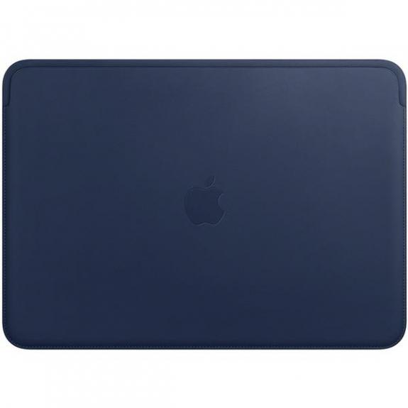 """Originální Apple kožené pouzdro pro Apple MacBook Pro 13"""" - půlnočně modrá MRQL2ZM/A - možnost vrátit zboží ZDARMA do 30ti dní"""