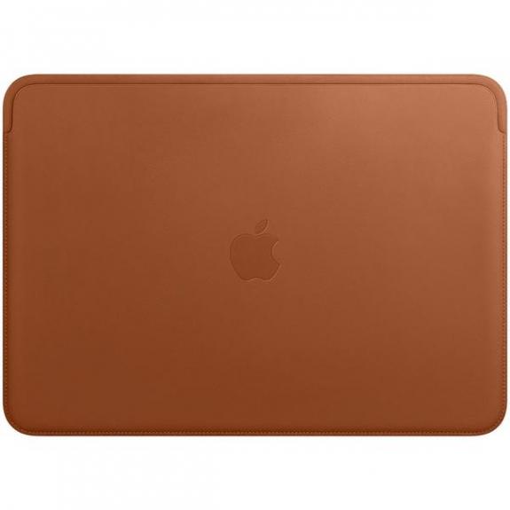 """Originální Apple kožené pouzdro pro Apple MacBook Pro 13"""" - sedlově hnědá MRQM2ZM/A - možnost vrátit zboží ZDARMA do 30ti dní"""