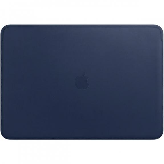 """Originální Apple kožené pouzdro pro Apple MacBook Pro 15"""" - půlnočně modrá MRQU2ZM/A - možnost vrátit zboží ZDARMA do 30ti dní"""