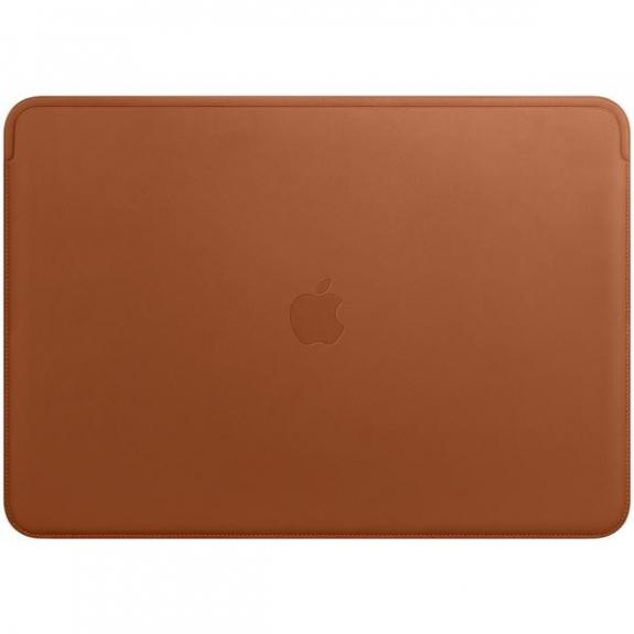"""Originální Apple kožené pouzdro pro Apple MacBook Pro 15"""" - sedlově hnědá MRQV2ZM/A - možnost vrátit zboží ZDARMA do 30ti dní"""