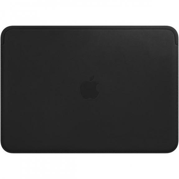 """Originální Apple kožené pouzdro pro Apple MacBook 12"""" - černá MTEG2ZM/A - možnost vrátit zboží ZDARMA do 30ti dní"""