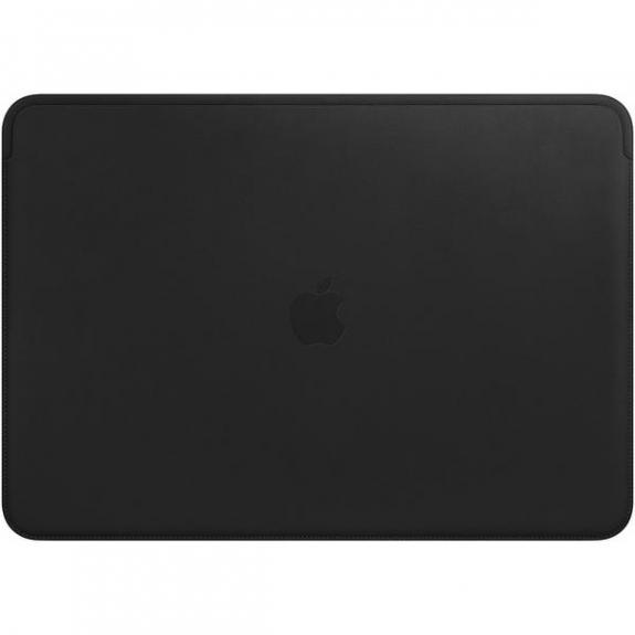 """Originální Apple kožené pouzdro pro Apple MacBook Pro 15"""" - černá MTEJ2ZM/A - možnost vrátit zboží ZDARMA do 30ti dní"""