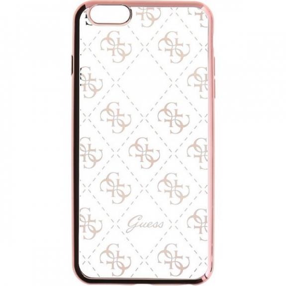 Guess měkké pouzdro pro iPhone 6 / 6S - růžové GUHCP6TR4GRG - možnost vrátit zboží ZDARMA do 30ti dní