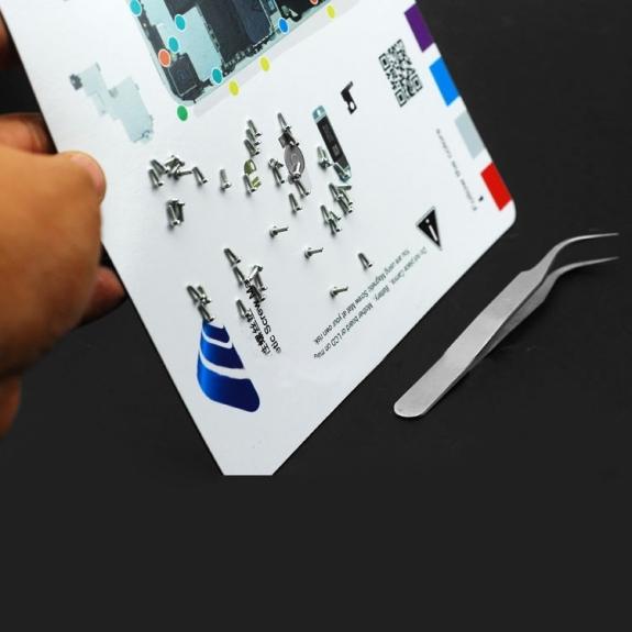 iPartsBuy magnetická podložka pro šroubky iPhone 6 Plus (rozměr 26x25cm) - možnost vrátit zboží ZDARMA do 30ti dní