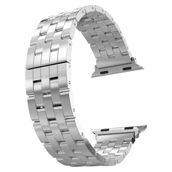 AppleKing hOCO luxusní ocelový nerezový řemínek pro Apple Watch 38mm - možnost vrátit zboží ZDARMA do 30ti dní