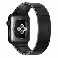 Luxusní ocelový nerezový řemínek pro Apple Watch 44mm / Watch 42mm - černý