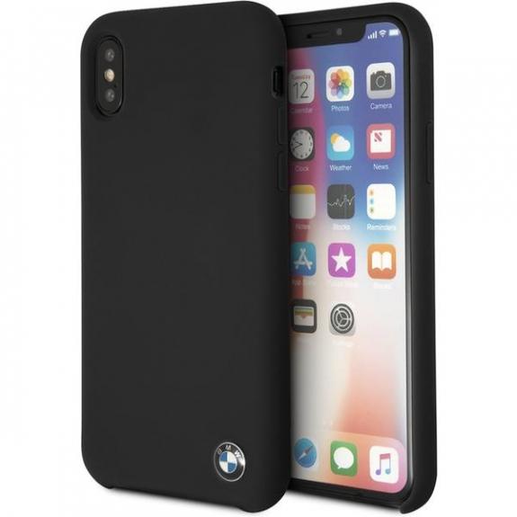 BMW TPU silikonové pouzdro pro iPhone X - černá 3700740408926 - možnost vrátit zboží ZDARMA do 30ti dní