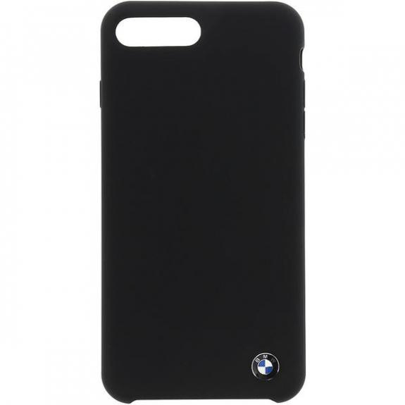 BMW Hard silikonové pouzdro pro iPhone 7 Plus / 8 Plus - černá 3700740414408 - možnost vrátit zboží ZDARMA do 30ti dní