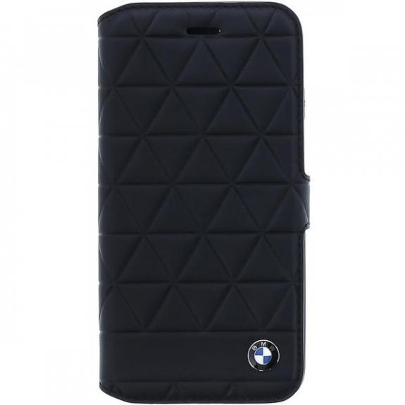 BMW Hexagon Book kožené pouzdro pro iPhone 7 / 8 - černá 3700740414651 - možnost vrátit zboží ZDARMA do 30ti dní