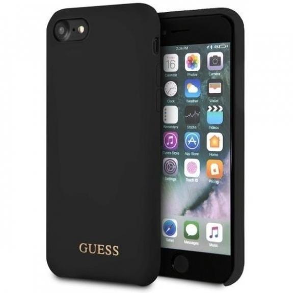 Guess pouzdro pro iPhone 7 / 8 - černá - možnost vrátit zboží ZDARMA do 30ti dní