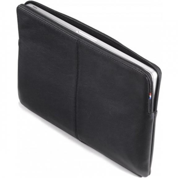 """Decoded Leather Slim kožené pouzdro pro MacBook Pro 15"""" - černá D4SS15BK - možnost vrátit zboží ZDARMA do 30ti dní"""