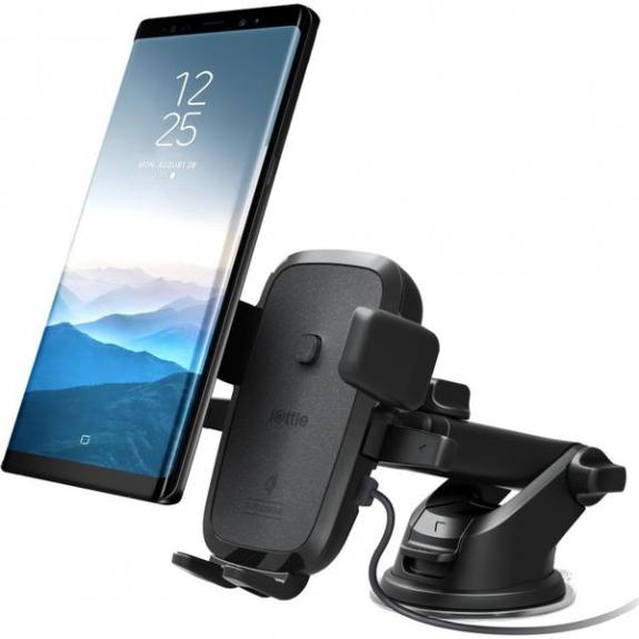 iOttie Easy One Touch 4 držák s Qi bezdrátovým nabíjením - černá HLCRIO134 - možnost vrátit zboží ZDARMA do 30ti dní