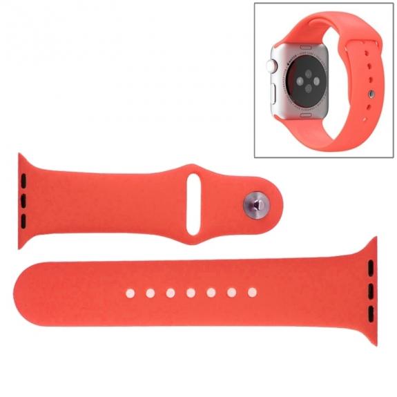 AppleKing silikonový / gumový sportovní řemínek pro Apple Watch 38mm - růžový - možnost vrátit zboží ZDARMA do 30ti dní