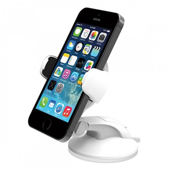 iOttie Easy Flex 3 držák do auta s přísavkou - bílá - možnost vrátit zboží ZDARMA do 30ti dní